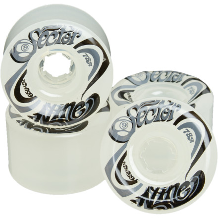 Skateboard Replace your old cone-shaped wheels or build up your dream deck with the Sector 9 TS Nine Balls 65mm Wheels. Sector used their Secret Sauce and a redesigned shape to keep these puppies rolling harder, longer, and way more awesome-er. - $28.80
