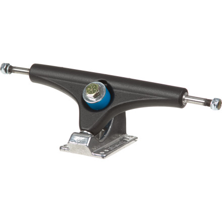 "Skateboard Slap some Gullwing Charger II Trucks on your ride and enjoy smooth carves with fewer wobbles, thanks to the 10"" wide platform and 50-degree baseplate design. - $52.00"