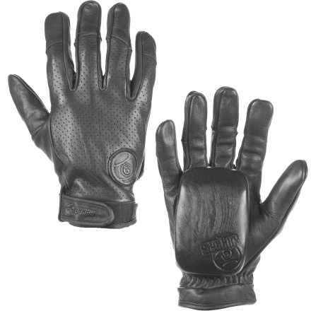 Skateboard Every feature on the Sector 9 Driver Leather Glove is optimized to improve durability, breathability, and all-around slide performance. - $69.95