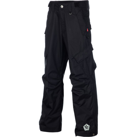Snowboard You don't have to blow your life savings to get a serious pair of snowboard pants. The Sessions Achilles Pant stands up to all but the most brutal of mid-January storms with 10K waterproofing and taped critical seams. - $72.48