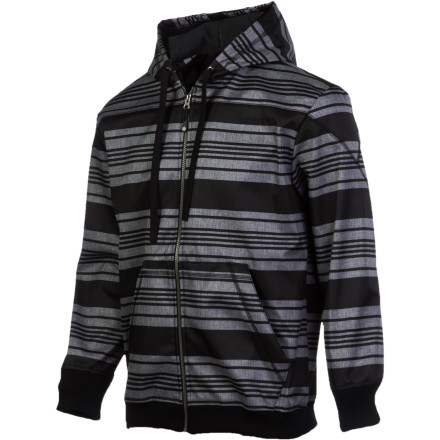 OK, so maybe you might not want to head up Everest in it, but the Sessions Himalaya Men's Softshell Jacket gets the job done just fine at your local mountain. The 100% polyester softshell fabric sheds moisture so you don't get soaked after a spill in the park, and a fleece lining helps fight the chill. - $89.98