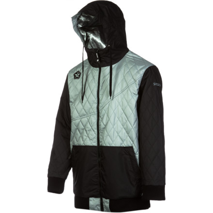Snowboard Conquer the coldest months of the year with the Sessions Humphreys Insulated Jacket. The Humphreys boasts 15K waterproofing and synthetic Poly Fill insulation to protect you from any harshness that Mother Nature throws at you, so you can stay out and ride when everybody else bolts for the safety of the lodge. - $112.48