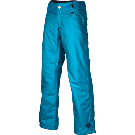 Snowboard Don't waste time worrying about what to wear to the mountain every morning with the Sessions Zero Insulated Women's Snowboard Pant. It has a 10K-rated fabric to keep you dry in slush or pow, and it's lightly insulated to add extra warmth for cold days, plus it has plenty of room to layer underneath if temps really plummet. When the sun comes out in the spring, open up the mesh-lined inseam vents and let cool air flow through while you lap the park. - $69.98