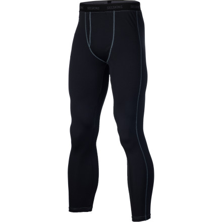 Keep things from getting swampy in your nether regions with the Sessions Dry Tech Men's Pant. It's made with moisture-wicking polyester to keep you dry, and the mid-calf length prevents it from getting bunched up with your socks. - $38.46