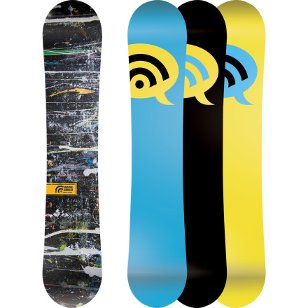 Snowboard Satisfy your every whim on the Signal Omni Series Wide Snowboard. Whether you feel like shredding park or pow, the Omni is ready to take it on. Wavelength hybrid profile combines the best of both worlds, with camber between your feet for pop and stability on jumps and drive when carving, and rocker at the tip and tail for float in pow and forgiveness in the park when you don't quite stomp your landing. - $281.97