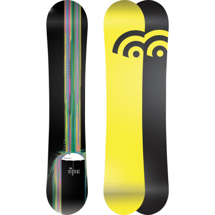 Snowboard The Signal Vita Park Women's Snowboard is made for good times all over the mountain. It features traditional camber for powerful turns and big ollies, a soft flex that is a blast to butter and jib inside the park and out; it's durable enough to survive life on the streets, too. - $221.37