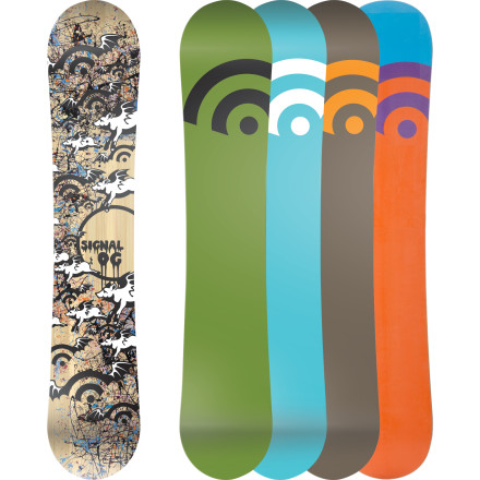 Snowboard The Signal OG Flat Wide Snowboard is for riders who boost airs and throw spins inside the park and out. The flat profile is poppy and stable for charging groomers and stomping jumps, but still playful for jibbing and catch-free buttering. So whether it's park laps, pow turns, high-speed groomers, or a little bit of everything in one day, the OG Flat has you covered. - $269.97
