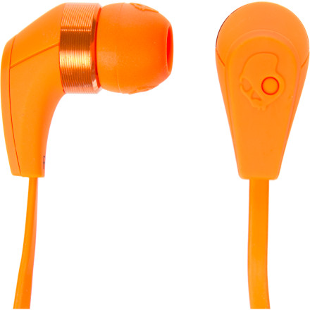 Entertainment Marinate your brain in sweet sound with the Skullcandy 50/50 Ear Buds w/Mic3. These compact little monsters push big noise harder than a broke-ass dealer pushes crack. - $44.95