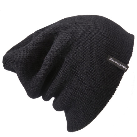 Can't get enough of the slouchy look Pick up the Skullcandy Skulldaylonger Beanie and encase your dome in soft, floppy goodness. (Yes, we realize how gross that sounds.) - $17.95