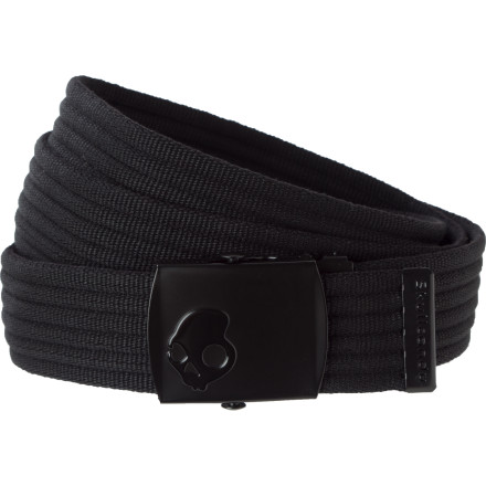 Even if you like to show off your undies, you still need the SkullDayLong Ribbed Web Belt to hold your pants in just the right spot. - $14.95