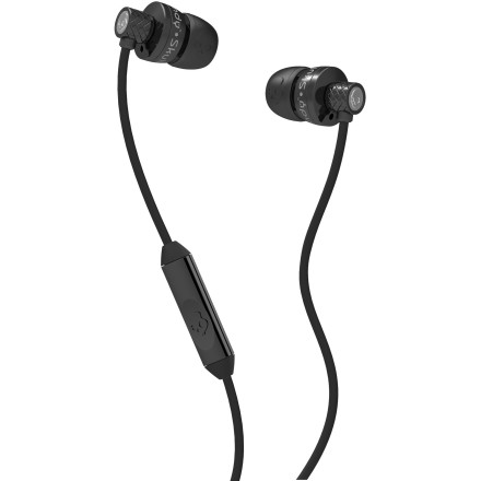 Entertainment The Skullcandy Titan Ear Buds cram your ear canals full of enough sonic power to knock the fillings out of a llama (yes, llamas DO go to the dentist). - $44.95