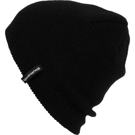 Judo chop a brick wall while wearing your Skullcandy SkullDayLong Beanie. Acrylic material feels buttery smooth on your head, and the slightly longer fit lets you bunch it down over your ears when it's bitterly cold out. - $17.95