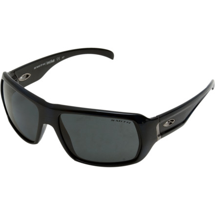Entertainment Get on the cutting edge in the Smith Vanguard Sunglasses. A big, bold frame offers great coverage, and high-quality Smith lenses provide the superior optical clarity you need to pick out trends long before they hit. Precise polarization fine-tunes your vision by getting rid of annoying glare and reflection. - $118.95