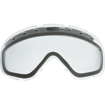 Ski You went face-to-rail last month, and now that you have new teeth and a new upper lip, its time to get new lenses for your goggles. The Phenom / Phase Replacement Goggle Lens is just the thing to get you back to riding with confidence. Pop it into your Phenom or Phase goggles, and enjoy the wonders of TLT optics and fog-free lenses. - $24.95