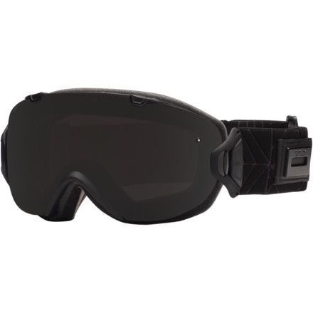 Ski Smith I/OS Interchangeable Goggle has a quick-release lens system that makes it easy to switch your lens. One word of warning, though: the ultra-modern styling may bring out how old and tired the rest of your gear has become. - $174.95