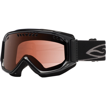 Snowboard You don't need goggles with a built-in espresso-maker that rivals the cost of your skis, but you also don't want goggles that fog up at the mention of a flat cat-track. Check out the Smith Scope Goggle. - $38.97