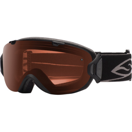 Ski Inspired by fashionable eyewear, designed to expose the truest picture of terrain in front of you, and sized for those with smaller faces, the polarized Smith I/OS Interchangeable Goggle is the luxury sports car of the goggle world. The minimal frame design creates a lightweight, comfortable feel while the easy-to-use (even with gloves on your hands) interchangeable clips allow you to adapt to conditions as quickly as they change. - $234.95