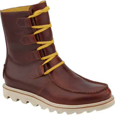 The Sorel Mad Boot Lace combines classic '50s style with modern functionality. - $94.98