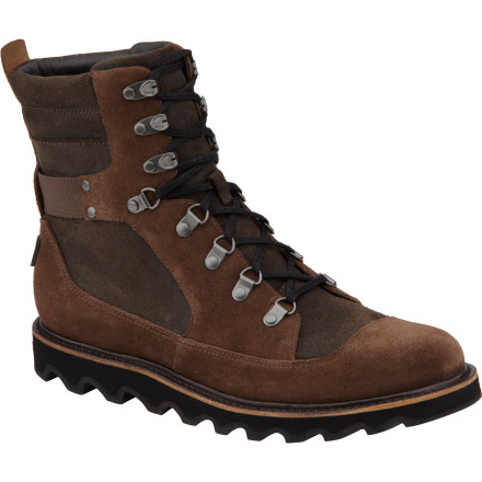 Camp and Hike The Sorel Mad Mukluk Boots combine rugged durability and a classic hiking-boot look to keep your feet happy whether you're on a week-long camp-out with your buddies or hanging out around town. Lace up in these boots and head out. - $109.98