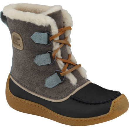 The Sorel Women's Chugalug Boots puts a modern twist on that '70s look so you get a great boot that hints at old-school style. Plus, the soft furry linings feel so good on your feet that you might not even notice that it's cold outside. - $149.47