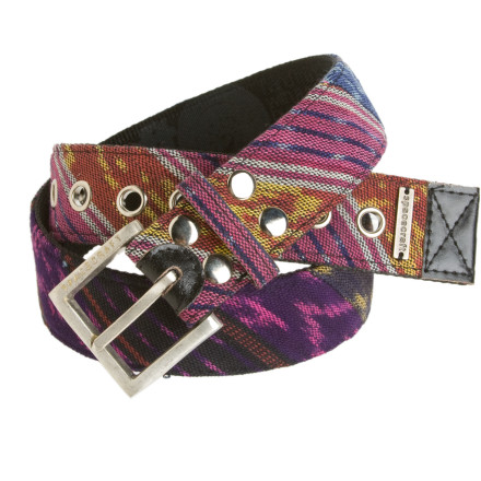 Your midsection is looking a little dull. Add some party to your pants with the Spacecraft Ikat Belt. Vinyl material means you can rock this belt on the street or the slopes. - $17.97