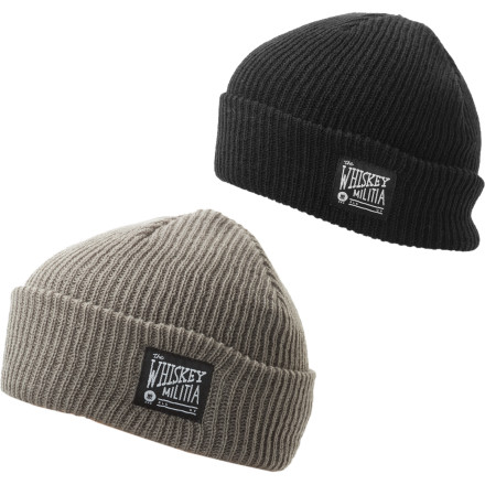 Whiskey Militia and Spacecraft go together like peanut butter and jelly. Or sushi and wasabi. Or breaking and entering. So it makes sense that we joined forces to bring you the Dock 2-Pack Beanie. - $27.97