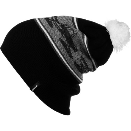 Chase snowmice when you wear the Spacecraft Snowcat Pom Beanie. - $16.22