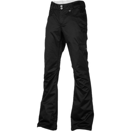 Snowboard If fully taped seams, waterproof fabric, and serious breathability aren't enough to make you fall head over heels for the Special Blend Women's Dash Snowboard Pant, the stylish slim cut should seal the deal. - $89.97