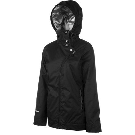 Snowboard The Special Blend Women's Alias Jacket AKA, The Special Blend Women's Alias Jacket (wait, what) defends against bad style as much as it does bad weather. 40g insulation, 10K waterproofing, and Special Blend's extra-special women's fit make all this possible. - $107.97