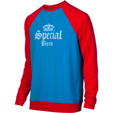 Rock the Special Blend Dirty Jersey as a warm, insulating mid-layer or as a soft next-to-skin layer. Either way, the Dirty Jersey locks in the heat and the style, no matter what the weather is doing. - $26.97