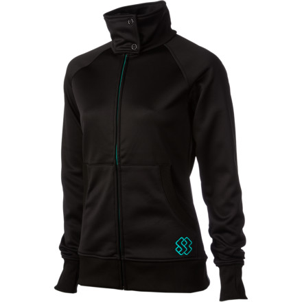 Camp and Hike From down in the valley to hiking the ridge, the Special Blend Women's Daybreak Bonded Fleece Jacket goes as long as you dowherever you choose to do it. - $41.97