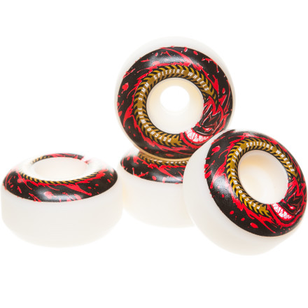 Skateboard The Spitfire Psychoswirl Wheels feature a slightly slimmer profile than the original Spitfire shape for less weight and faster flicks. - $23.96