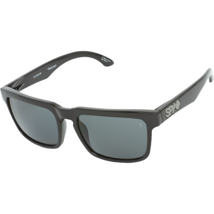 Entertainment Not only do these Spy Helm Sunglasses make you look totally super-rad, they also feature polarized lenses to block glare. Which is a lot more than your friends can say about their super-ironic $3.99 gas-station shades. - $139.95