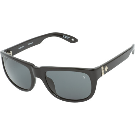 Entertainment Protect your vision and see the world with a fresh eye with the Spy Kubrik Polarized Sunglasses. Offering ultimate glare-reduction and 100% UV protection, the mod-inspired Kubrik Sunglasses will keep your eyes from becoming fatigued or damaged while doing the things you love under the villainous sun. - $134.95