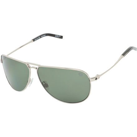 Entertainment Protect your vision, look good doing it, and even request a fly-by in the Spy Wilshire Polarized Sunglasses. The Wilshire Polarized delivers a classic aviator look for any occasion where the sun is blaring and style is crucial. - $149.95