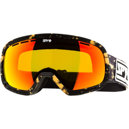 Ski Using a distortion-free, spherical dual-lens system and Scoop ventilation technology, the all-new Spy Marshall Goggle not only opens up the view but also protects and keeps you going fog-free all day. The Marshall hits the not-too-big, not-too-small sweet spot (for you Soldier fans, it's just a little larger) so your goggle tan lands in just the right place. - $65.97