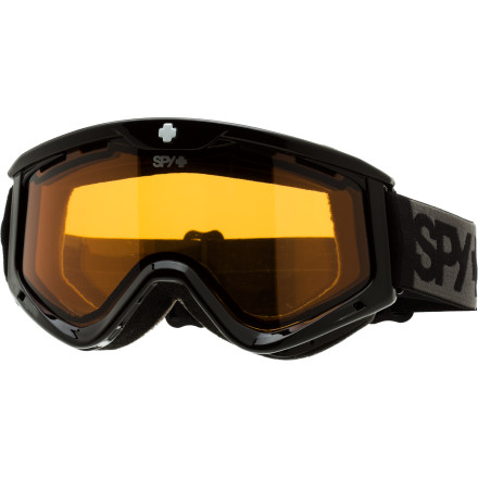 Snowboard The folks at Spy know that the only way to stay ahead of the game is to innovate. The Spy Targa III Goggle reflects this knowledge while staying true its roots. By-products of this innovation include wider peripheral vision, the patented Scoop ventilation technology, and of course, the good looks we have all come to expect from Spy. - $26.97