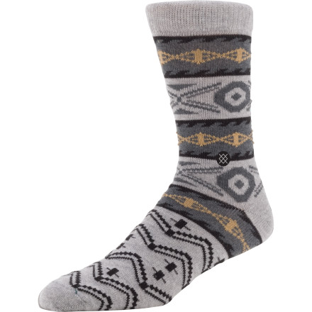 If you're in the midst of your sock trials, pick up a pair of the Stance Everyday Casual Sock. Made with soft cotton and featuring a reinforced toe and heel, this sock will keep you rolling comfortably for miles to come. - $8.96