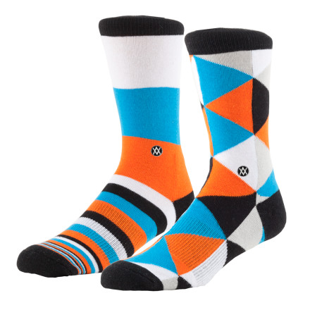Skateboard It seems like everyone has a smart phone, skinny jeans, and a slouchy beanie these days, but you have something so much sweeter. You have two different socks because you took a stand on style with the Stance Boys' Mix Match Skate Socks. - $6.36