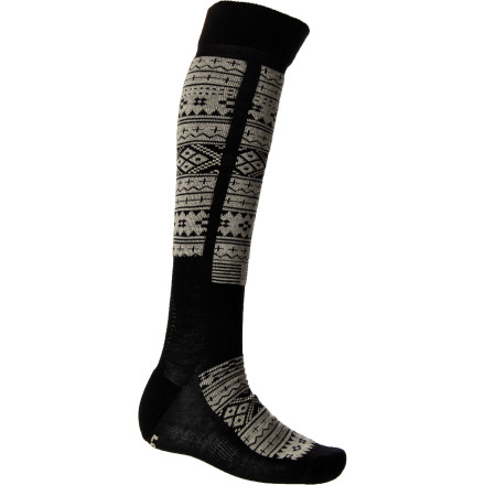 Snowboard This ain't your grandma's wool. The Stance Merino Light Weight Snowboard Sock is made with super-soft merino wool to regulate your foot's temperature, and it's naturally odor-resistant so you don't have to wash it every time you ride. - $19.95
