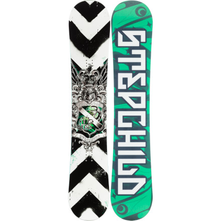 Snowboard Simon Chamberlain likes his boardslides locked, his presses proper, and his powder deep. Thanks to a floaty, press-happy rocker profile and all-new Park Formula sidewalls, his pro-model Stepchild deck handles all of the above. - $263.97