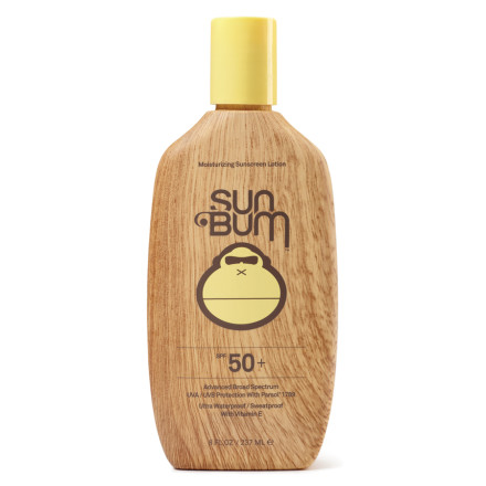 Snowboard From kids to people with fair skin, Sun Bum made its SPF 50+ sunscreen to provide reliable protection against the sun's harmful UVA and UVB rays. An SPF rating of 50 means that this versatile, active sunscreen provides 50 times more protection than your skin alone can dish out on its own. - $15.95