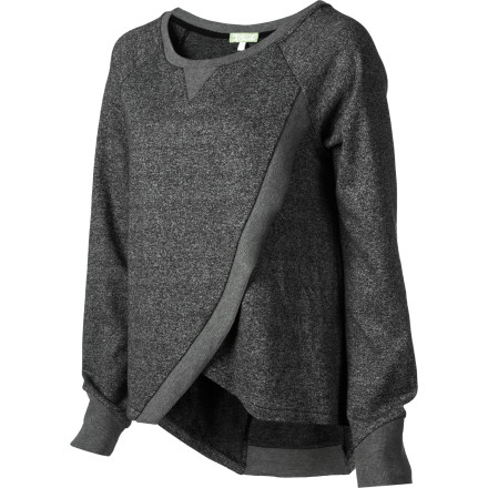 "The SUPERbrand Women's SUPERfleece Short-Sleeve Top combines the comfort of a worn-in sweatshirt with fashionable styling and self-accessorizing fabrics. It's look that says, ""Yes, I am comfortable being this sexy."" - $33.57"