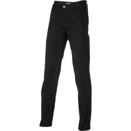 Skateboard Slip into something a little more comfortable than your average pair of jeans with the SUPERbrand Barrio Men's Pant. The soft stretch chino fabric is flexible and breathable so your legs get a little fresh air, and the straight fit allows plenty of room to move so you don't feel restricted while you're skating. - $35.98