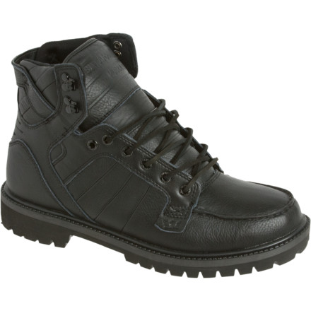 The Supra Skyboot takes the Skytop silhouette and transforms it into a rugged all-weather boot so you can stop soaking your 'tops all winter. - $98.97