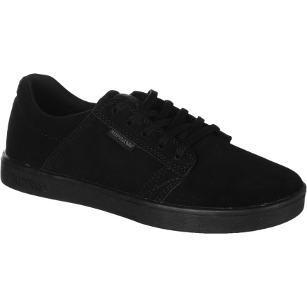 Skateboard Some kids demand shoes with lights, tons of bulk, and sometimes even wheels. And that's cool and all, but for the kid who wants to progress at skateboarding and not look ridiculous off the board, there is the Supra Westwood Kids' Skate Shoe. - $35.96