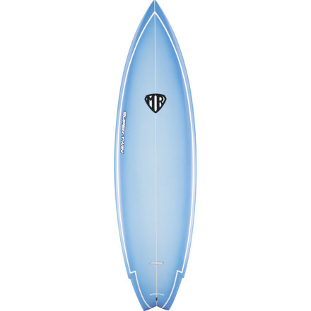 Surf How do you make a proven shape with a twin fin set-up even better You ask a world-champion surfer turned shaper to craft what he likes and add a center fin to take it from the steady performance of a twin to the aggressive ride of a thruster. Surftech's Mark Richards Super Twin Surfboard features the choice shape of the four-time ASP world-champion with the proven lightweight durability of a Tuflite core. The Super Twin's steep entry rocker quickly flattens through the tail to blend with the narrow nose, wide mid, and pulled-in swallow tail for a seemingly 'supernatural' mix of speed, stability, and agility. - $799.95