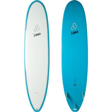 Surf A Longboard feel with shortboard performance and a tough-as-nails backbone: that pretty much sums up the Surftech Water Hog Surfboard. Combining Al Merrick's mini-longboard shape with a thruster set-up that craves slow-moving, medium-to-big waves, you'll dig taking the Water Hog to maximum speed and getting as playful as you want. It may be a little washy for beginners due its fun-board length, performance concave, and V-shape through the small squash tail, but intermediate and advanced riders will appreciate it's unique shape. - $899.95