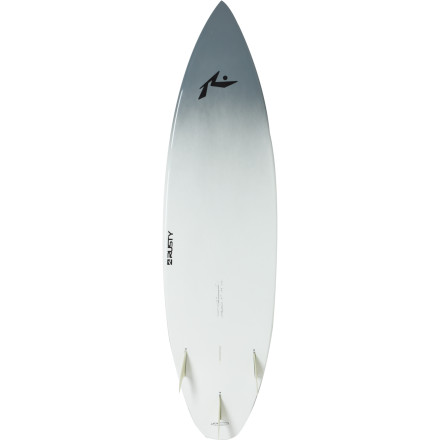 Surf With Surftech's light and floaty Tuflite core and thick rails, the Rusty Predator Surfboard is a buoyant shortboard for surfers with big skills and a physique to match. The tough construction, durable epoxy coating, and aggressive shape are set to handle your fusion of power and finesse. - $539.47