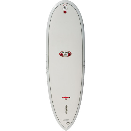 Surf Curl your toes over the nose of the Surftech Takayama Scorpion Surfboard this board was designed by one of the most sought-after longboard shapers in the world, Donald Takayama. Thanks to its rounded pintail, this fast mid-length board offers you the means to get into the wave super-early and get barreled when the waves are hollow and the wind is blowing offshore. Before you know it, the sun starts to set, and you find yourself with a big-ass grin on your face from getting tubed. - $774.95
